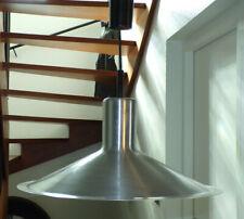 SUSPENSION DORIA LAMPE ALUMINIUM BROSSé SPACE AGE DESIGN 70 dlg fog & morup