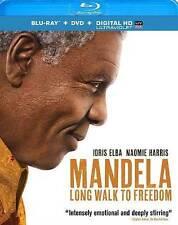 Mandela: Long Walk to Freedom Blu-ray+DVD+Digital HD Usually ships in 12 hrs!!!