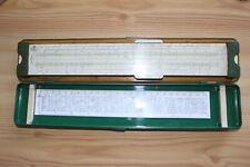 Regolo Calcolatore da Collezione Faber Castell 2/83 Novoduplex Custodia 33cm