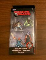 NEW! JADA Dungeons & Dragons Drizzt Cleric MIND FLAYER 4 Figure Die Cast D&D