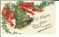 AX-195 Happy New Year, Artist signed Ellen Clapsaddle, 1907-1915 Postcard