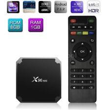 X96 mini S905W Android7.1.2 Smart TV Box 4K 1+8G Quad Core H.265 WiFi Media H4Y1