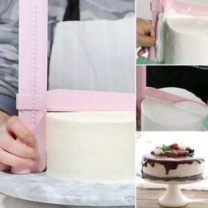 1pc Adjustable Cake Smoother Tools Cutter Decorating Fondant Sugarcraft Mold New
