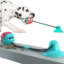 Molar Bite Interactive Dog Toy with Durable Rope and Suction Cup for Pulling/Che