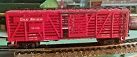 HO scale  AHM Great Northern  Cattle Car  GN 54108 Vintage  Rare