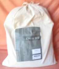 Kiss&Tell 3pc DUVET solid Cotton Colored Woven Fabric TAN FULL/QUEEN