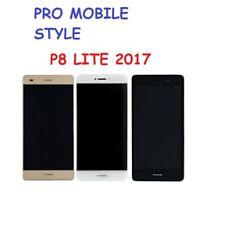 VITRE TACTILE + LCD ASSEMBLEE HUAWEI P8 LITE 2017 OEM ORIGINAL NOIR / OR / BLANC