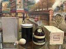Vintage 1946 Frenzy Corday Perfumes Eau De Toilette *Extremely Rare* New Sealed