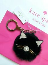KATE SPADE Keyring / Key Chain Leather CAT RRP 69.00 Super Cute!