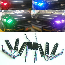 Remote Control RGB Multicolor LED DRL Board Lighting Kit For Ford Mustang 15-17