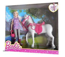 Barbie & Pferd DHB68 Neu/ovp Puppe