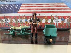 Zartan Swamp Skier Vehicle Near Complete 1984 ARAH GI Joe Cobra Vintage W ZARTAN
