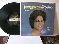 "Kitty Wells,Decca,""Country Music Time"",US,LP,stereo,Still In Shrink,classic,EXC"