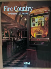NSM CD Fire Country / Fire Bird Wallbox Jukebox Sales Brochure / Flyer