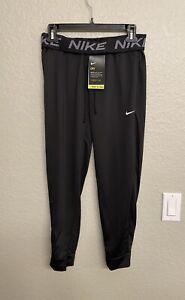 Nike Dri-Fit Training Pants Drawstring Fold-Over Waist Logo Women's XS NWT $50