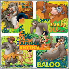 Jungle Book Stickers - Classic Jungle Book Birthday Party Favours - Loot Bags