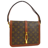 LOUIS VUITTON ROND POINT SHOULDER BAG PURSE MONOGRAM M51412 VINTAGE AUTH S09666