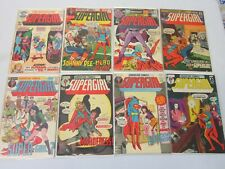 Supergirl 8 Different Books Silver Age 4.0 VG