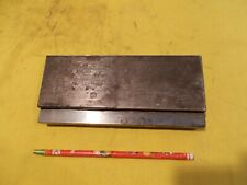 "7 1/2"" OAL x 30 degree PRESS BRAKE DIE metal bending fab shop tool"