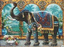 INDIAN ELEPHANT - COUNTED X-STITCH CHART