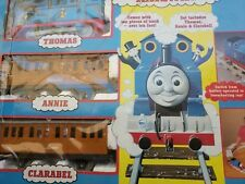 Vintage 1993 Thomas the Tank Engine Model 12020, Annie, Clarabelle with track
