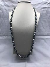 Tahitian Pearl Necklace 33 Inches 9.5X10mm