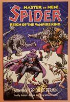 SPIDER: REIGN OF THE VAMPIRE KING #2 ~ VF/NM 1992 ECLIPSE COMICS ~ ALCATENA ART
