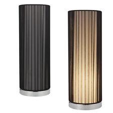 [lux.pro] Luce da tavolo Lampada da tavolo [43cmx Ø15cm] Nero Lampada Soggiorno