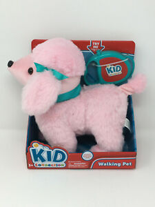 Kid Connection Sound and Remote Control Leash Walking Pet - Pink Poodle - New