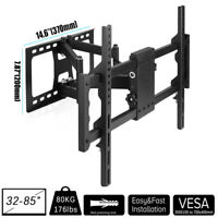 "Heavy Duty Full Motion Articulating TV Wall Mount Bracket Fits 30""-85"" ULED LCD"