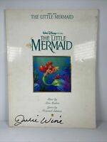 Vtg Original The Little Mermaid Walt Disney Movie Piano Vocal Sheet Music 1990