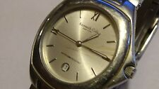 "Mens SS Kenneth Cole New York watch w/ new battery runs great fits 7 1/2"" wrist"