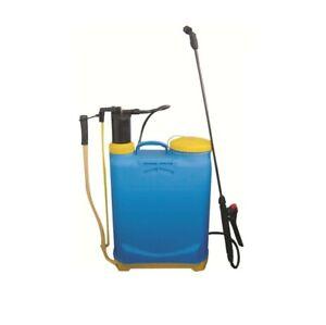 Garden Pressure Spray Bottle Portable Hand Pump 16 Litre Sprayer Weed Chemical