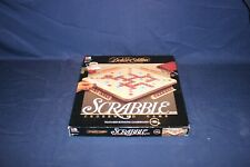 VINTAGE Milton Bradley DELUXE Edition SCRABBLE CROSSWORD GAME COMPLETE 1989
