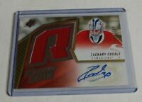 ZACHARY FUCALE - 2015/16 UD SPX - ROOKIE AUTOGRAPH JERSEY - #24/399 - CANADIENS