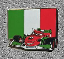 Cars 2 Francesco Bernoulli Italy Pin DISNEY Pin - Pixar Mystery