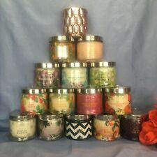 "PartyLiteâ""¢ 3-wick Jar Candles - Nib! 14 Scents (some disc) *Read Descriptions*"