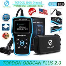 TOPDON OBDCAN PLUS OBD2 EOBD CAR Diagnostic Tool CAN Fault Code Reader Scanner