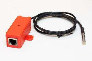 PRTG network monitor temperature sensor