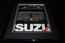 1986 Isuzu I-Mark Framed 11x14 ORIGINAL Vintage Advertisement