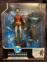 McFarlane DC Multiverse Robin Crow Crooked Smile Dark Nights Metal Merciless BAF