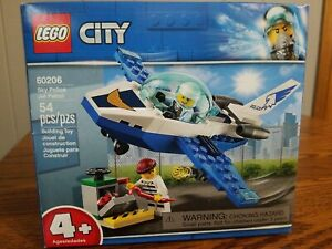 LEGO City Sky Police Jet Patrol 60206 Building Kit (54 Piece)