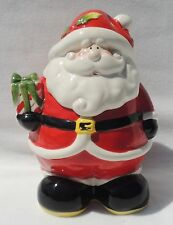 Christmas Tabletop 2009 Santa Cookie Jar  #1978