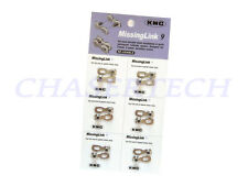 New KMC Missing Link 9 Connector For 6.6mm 9 Speed Chains Card of 6