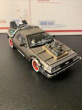 Back To The Future III DeLorean Time Machine Sun Star 1:18 Scale