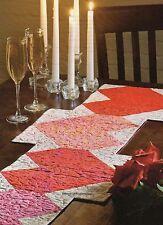 Heart Fire Table Runner Quilt Pattern Pieced TM