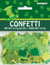 St Patricks Day Table Confetti Sprinkles Shamrocks Irish Table Decorations