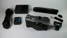 Fujifilm Fuji X Series X-E3 24.3MP Mirrorless Digital Camera Silver w/ Pop Flash