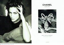 PUBLICITE ADVERTISING 026  2010  Chanel Joaillerie ( 2p) boucle de Diamants
