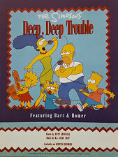 The Simpsons: Deep, Deep Trouble (Sheet Music) - OUT OF PRINT, MINT CONDITION!